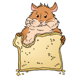 Can hamsters eat bread?